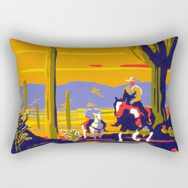 Saguaro National Monument Rectangular Pillow