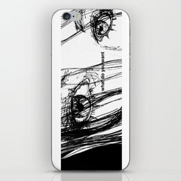 WHAT DO YOU WANT iPhone Skin