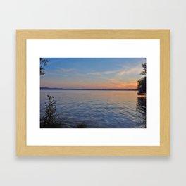 Müggelsee Framed Art Print