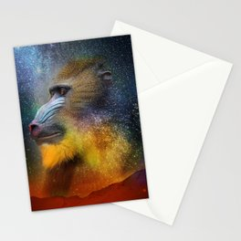 Monkey Head Nebula Stationery Cards