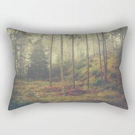 They whisper things Rectangular Pillow