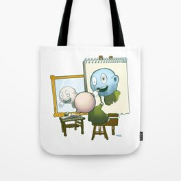 Baby Norman Zombiewell Tote Bag