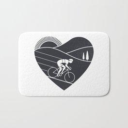 Love Cycling Bath Mat