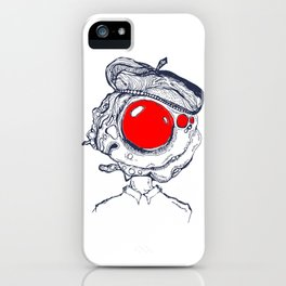 Omelet Head iPhone Case