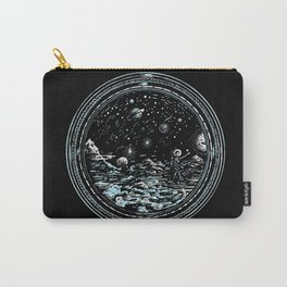 Miniature Circle Landscape 2: Astronausea.. Carry-All Pouch