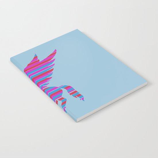 Pegasus Stripes Notebook