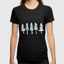 evergreen forest T-shirt