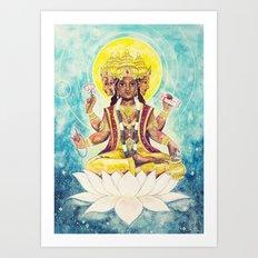 Creation, Brahma Art Print