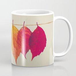 Rainbow Leafs (Color) Coffee Mug