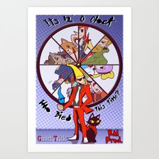 Ghost Trick: Time of Death Art Print