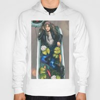 relax Hoodies featuring Relax by Yan Ramirez