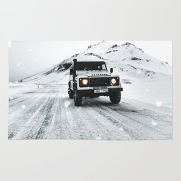 roadtrip in iceland Rug