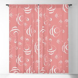 Calligraphy Design, Calligraphy Art Blackout Curtain