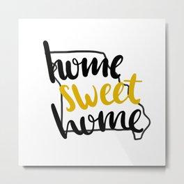 Home Sweet Home Missiouri Metal Print