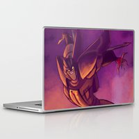 transformers Laptop & iPad Skins featuring Transformers Animated: Starscream by Esuerc Voltimand