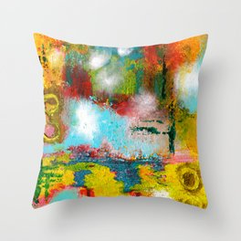 Mystery Wall Throw Pillow