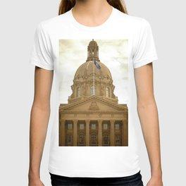 Edmonton through the Vision T-shirt