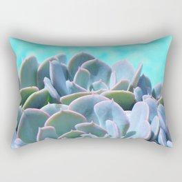 POOLSIDE SUCCULENTS Rectangular Pillow