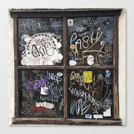 Fishtown Graffiti Street Canvas Print