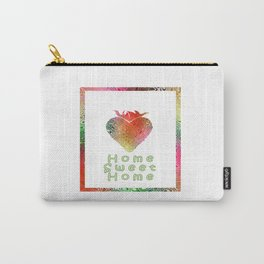 Home Sweetest Home -Typography Carry-All Pouch