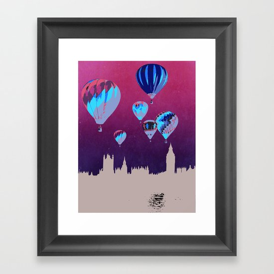 Sky of London Framed Art Print
