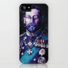 King George V iPhone Case