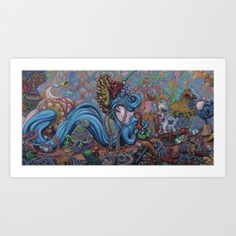Entraced Art Print