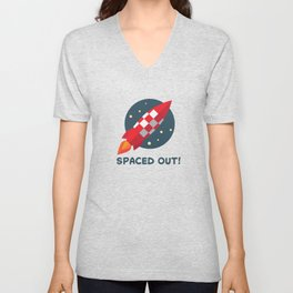 Spaced out! Unisex V-Neck