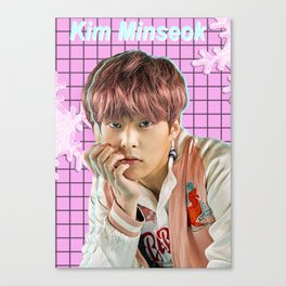 Kim Minseok Canvas Print