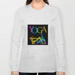 Yoga addicts Long Sleeve T-shirt