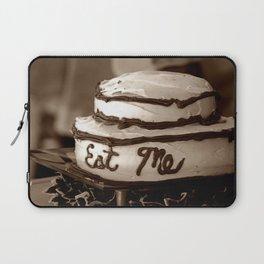 Alice's Eat Me Cake  Laptop Sleeve
