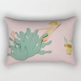 The New Plant in Town Rectangular Pillow