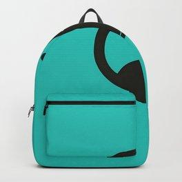 Black Cat Circle Backpack