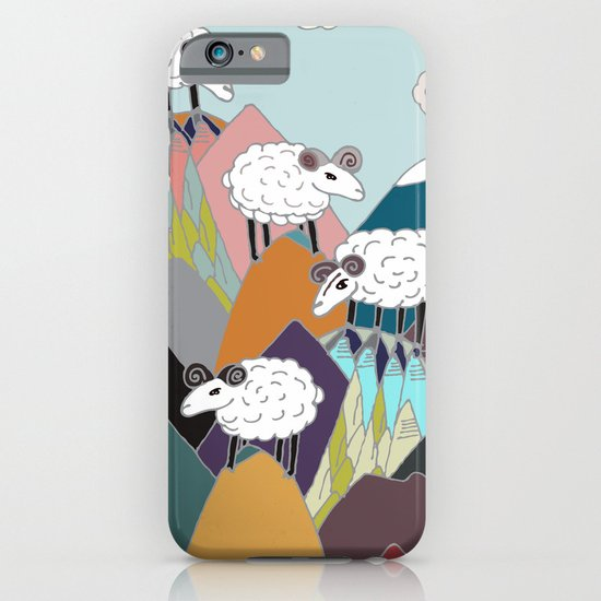 Clouds and Sheep iPhone & iPod Case