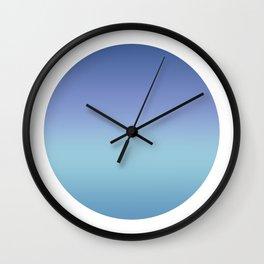 Backround Round Wall Clock