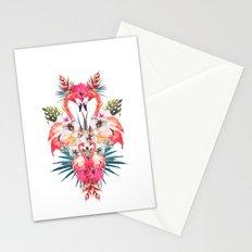 Flamingos Tropicales Stationery Cards