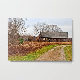 Wisconsin Old Barn 2 Metal Print