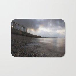 Criccieth beach Bath Mat
