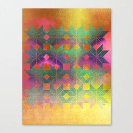 Valborg, Snowflakes #43, Goddess of Rebirth. Canvas Print