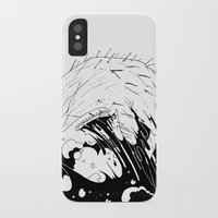 moby dick iPhone & iPod Cases featuring Moby Dick by JoJo Seames