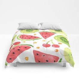 Summer Fruit Punch Comforters