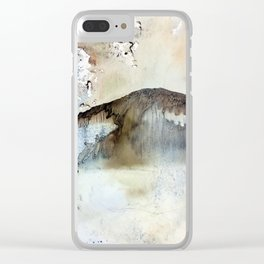 asian mountain Clear iPhone Case