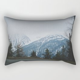 Mountainroads Rectangular Pillow