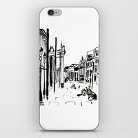 cityscape iPhone & iPod Skins featuring CITYSCAPE by hawwa a