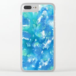 Aquatic Sky Clear iPhone Case