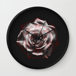 SACRED ROSE Wall Clock
