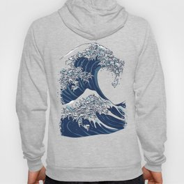 The Great Wave of Maltese Hoody