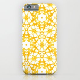 batik floral iPhone Case