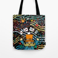 carnival Tote Bags featuring Carnival by Kakel