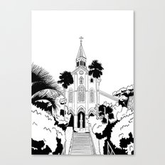 Nagasaki - Oura Church Canvas Print